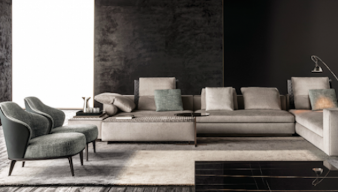 Minotti furniture London 2015 collection