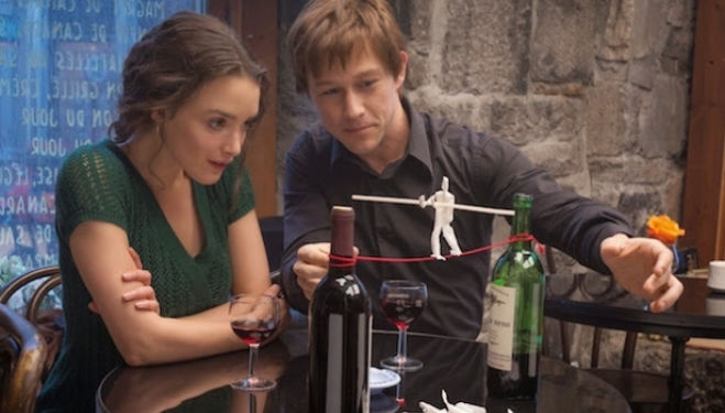Charlotte Le Bon, Joseph Gordon Levitt, The Walk film still