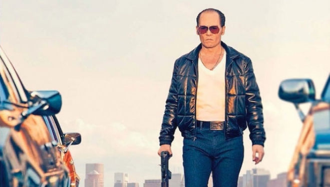 Johnny Depp, Black Mass film still