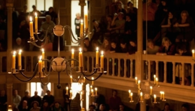 Candlelight at Sam Wanamaker Playhouse