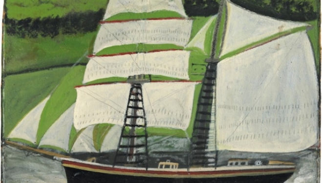 Alfred Wallis artist at Modern Art, London