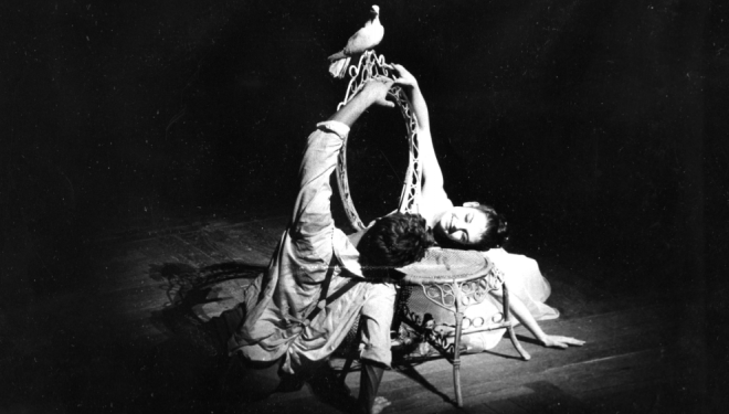Christopher Gable, Lynne Seymour. The Royal Ballet, The Two Pigeons 1961, photo by Donald Southerland