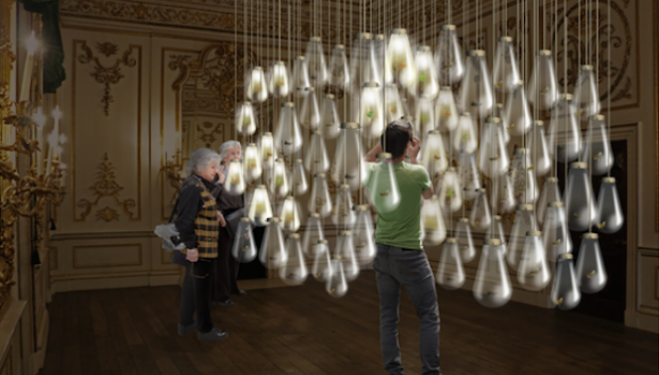London Design Festival Curiosity Cloud, V&A London