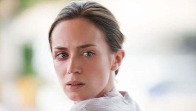 Still from Sicario film, Emily Blunt