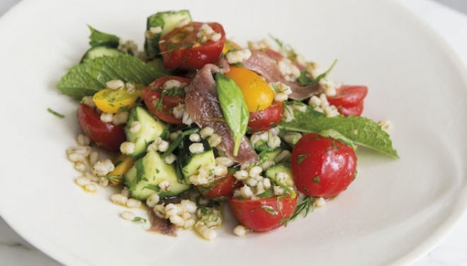 Spring salad recipe: Photography © Andy Sewell