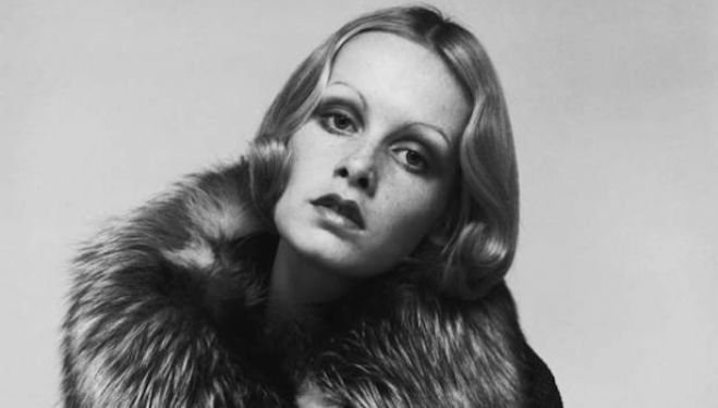 Justin de Villeneuve photographer, Twiggy
