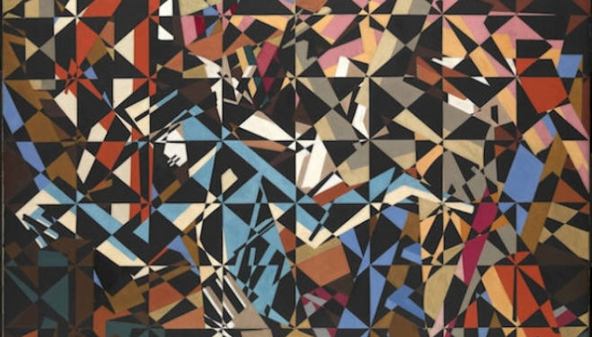 David Bomberg artist, In the Hold c.1913–4 Tate. Presented by the Friends of the Tate Gallery 1967 © Tate London