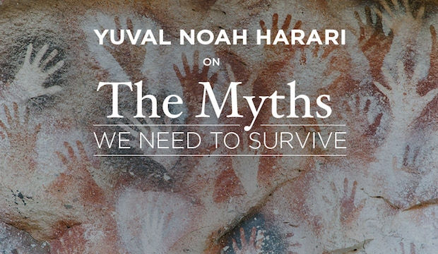 Yuval Noah Harari: On The Myths We Need To Survive, at the Royal Geographical Society