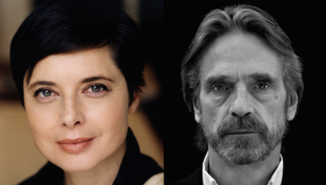 Isabella Rossellini, Jeremy Irons, Southbank Centre