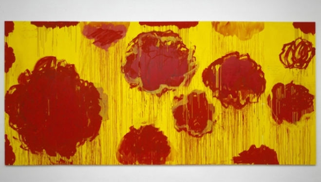 "Gagosian Gallery, Cy Twombly artist, ""Untitled"" from 2007"