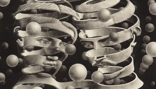 M. C. Escher artist, Dulwich Picture Gallery London