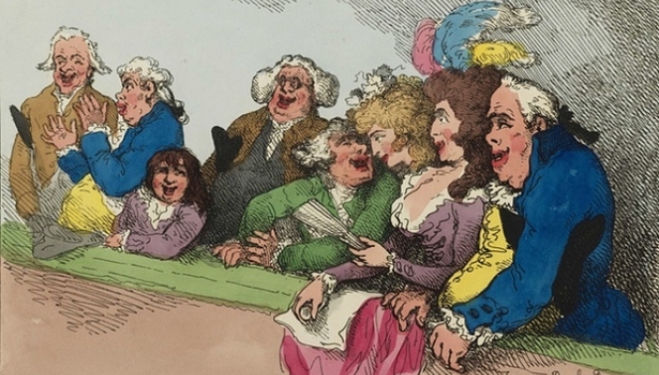 Thomas Rowlandson, The Queen's Gallery