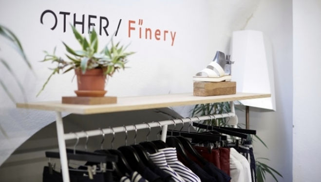 Finery London pop up