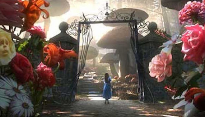 Alice in Wonderland, Tim Burton 2010