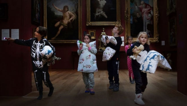 Pillows and Paintbrushes Sleepover, Dulwich Picture Gallery