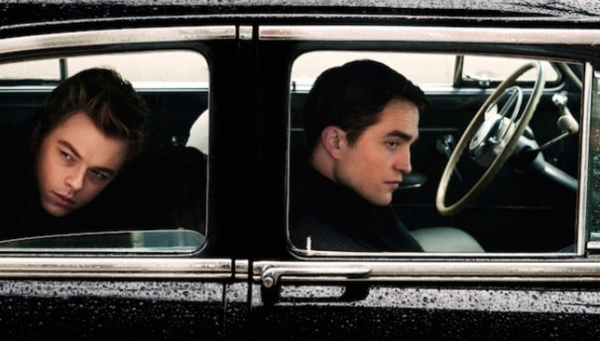 Dane DeHaan, Robert Pattinson, Life film still
