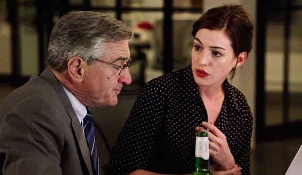 The Intern, Robert De Niro, Anne Hathaway film still
