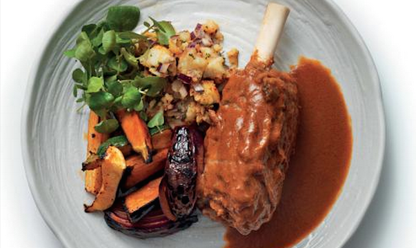 Benares Recipes: Punjabi Lamb Shanks