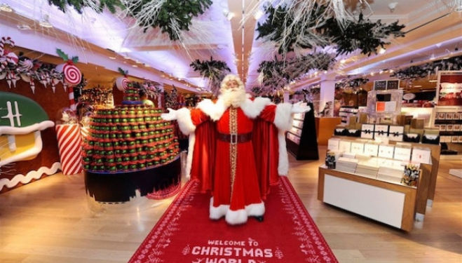 The Harrods Christmas Grotto