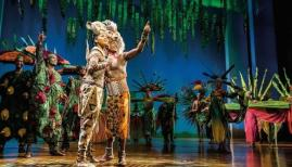 Disney's The Lion King at the Lyceum Theatre, London; photo by Johan Persson