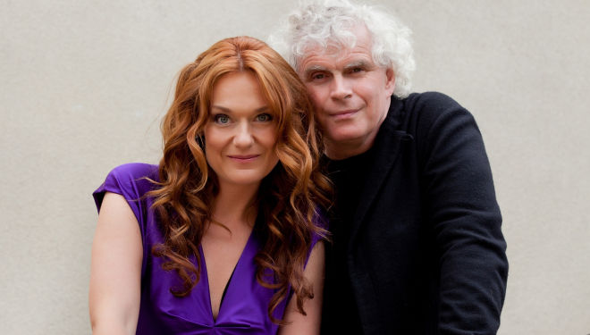 Magdalena Kozena and Sir Simon Rattle, Wigmore Hall