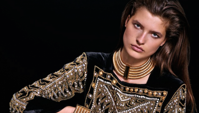 Balmain for H&M new images