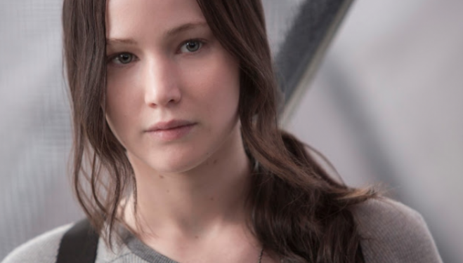 Jennifer Lawrence: Mockingjay Part 2 film still