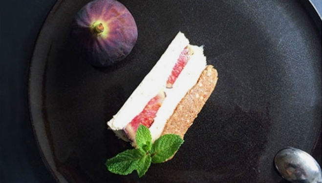 Recipe of the week:  Fig & Lavender Honey Cheesecake