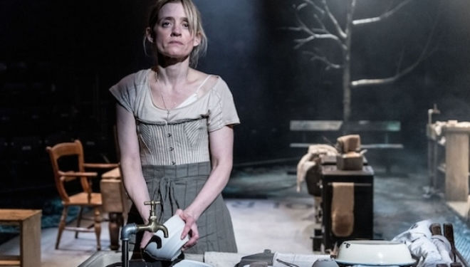 Anne-Marie Duff: Husbands and Sons, National Theatre. Photo by Manuel Harlan