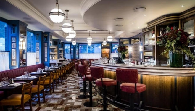 Open for business: The Ivy Cafe Marylebone