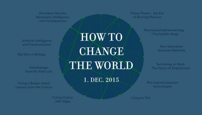 How to Change the World, Royal Institution