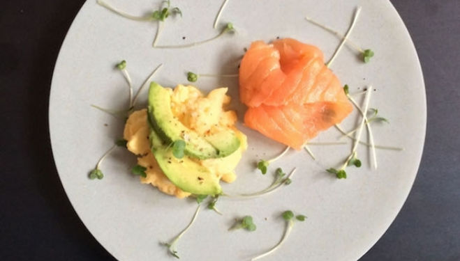 Stephanie Achar Recipe: Healthy Egg & Cress