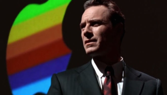 Michael Fassbender, Steve Jobs film still