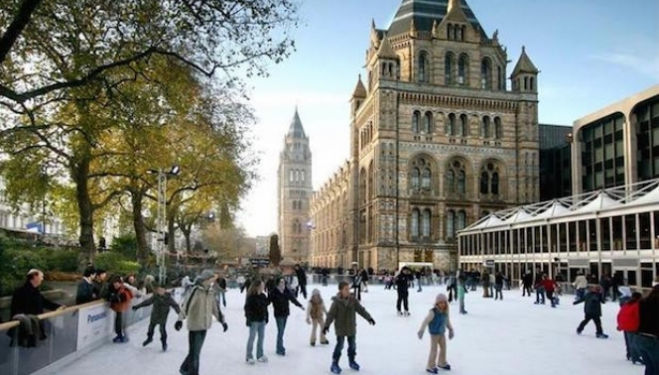 Natural History Ice Rink, South Kensington