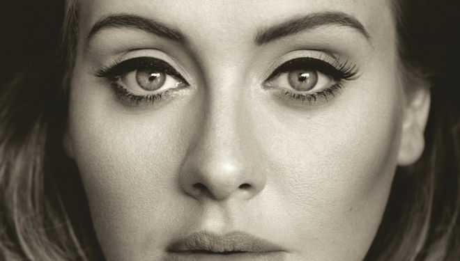 Adele 25 album cover, photograph (c): XL