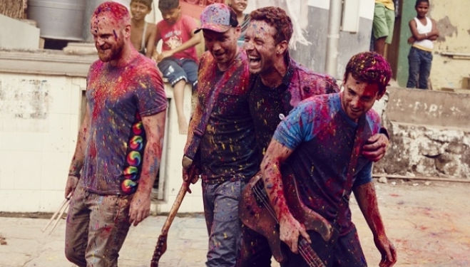 Coldplay, Photograph: Julia Kennedy, Atlantic Records