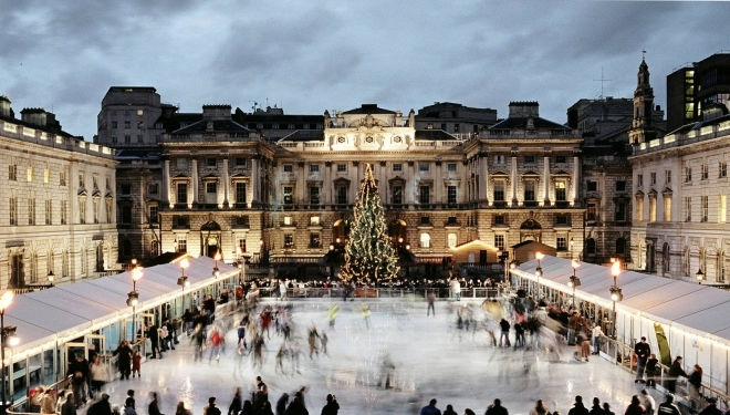 Somerset House, Photography © Gideon Mendel