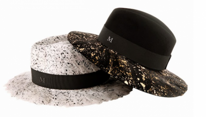 Hats by Maison Michel, courtesy bellevivir.com