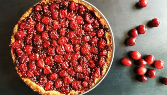 Stephanie Achar Recipe: Cranberry Tart