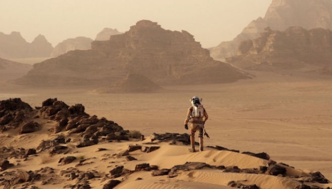 2015 best films: The Martian, starring Matt Damon