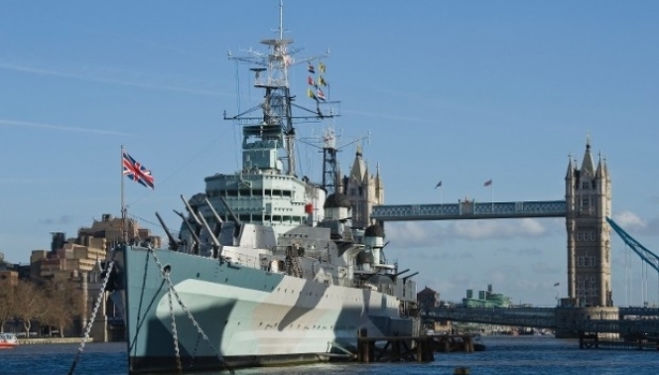 HMS Belfast family activities