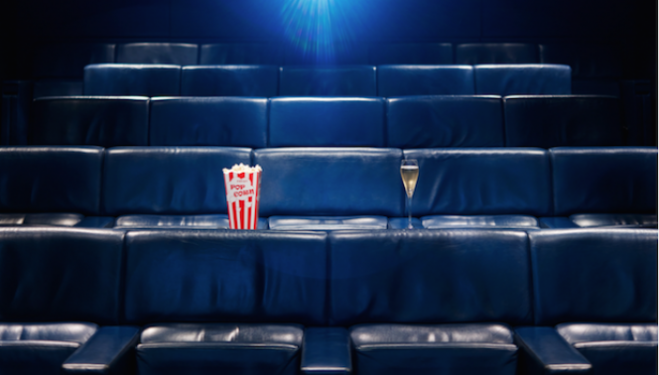 Curzon Film & Fizz at Boutique Hotel: London One Aldwych Cinema