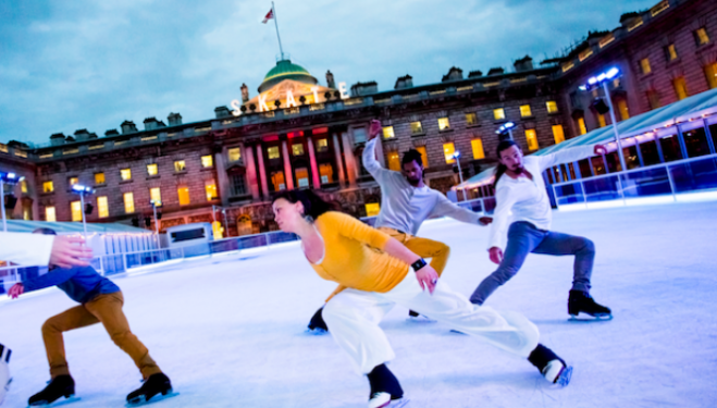 Vertical: Le Patin Libre, Somerset House