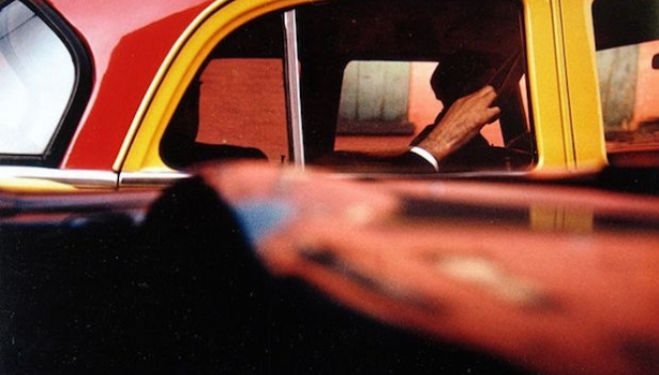 Taxi, c 1957 © Saul Leiter Courtesy Howard Greenberg Gallery, New York, Saul Leiter London 2016