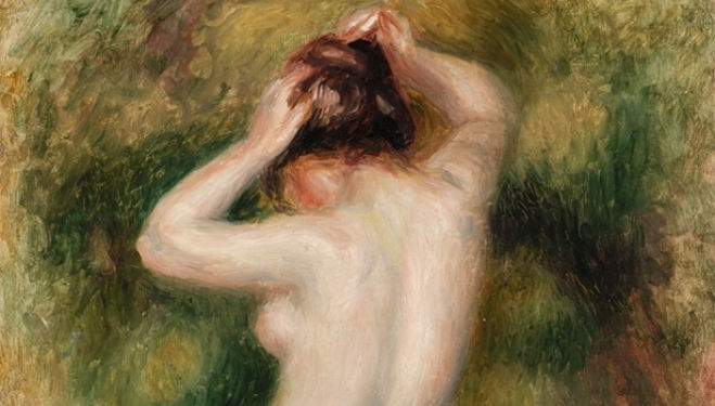 Pierre-Auguste Renoir, Bather (Baigneuse), c. 1890  © 2015 The Barnes Foundation