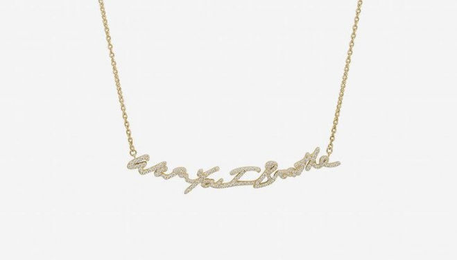 Tracey Emin Jewellry by Stephen Webster