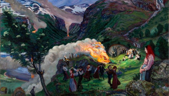Nikolai Astrup, Dulwich Picture Gallery review
