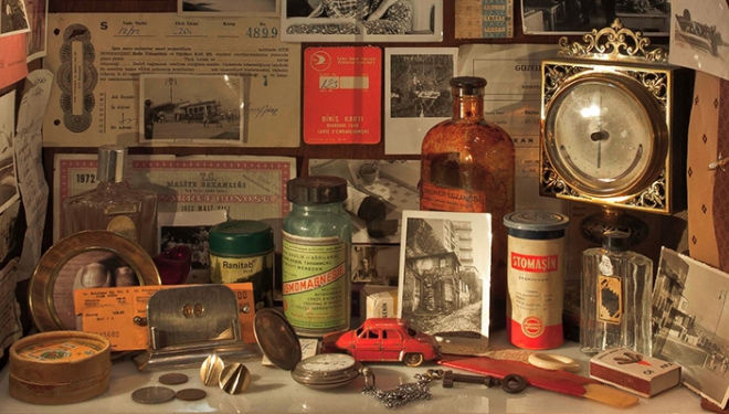 A glimpse into The Museum of Innocence - Courtesy of Somerset House