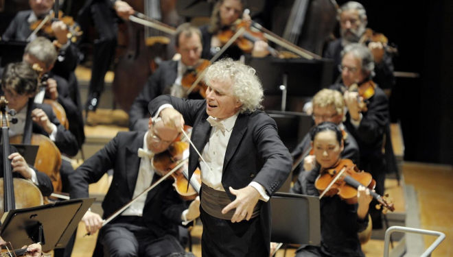 Simon Rattle conducts Mahler's 6th, Barbican Centre