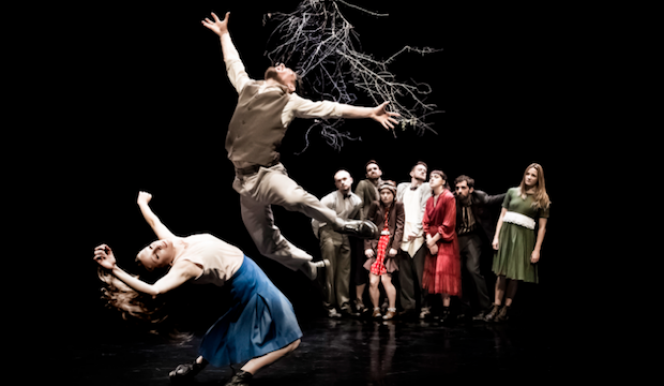 NDCW Folk, photo Rhys Cozen, Contemporary dance London, The Place